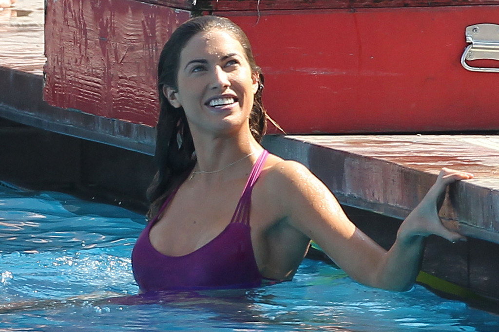 Katherine Webb 2013 : Katherine Webb on the set of  Celebrity Diving -21