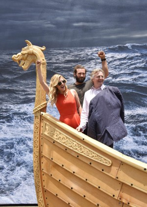 Katheryn Winnick - On the Set with Vikings Interactive Experience