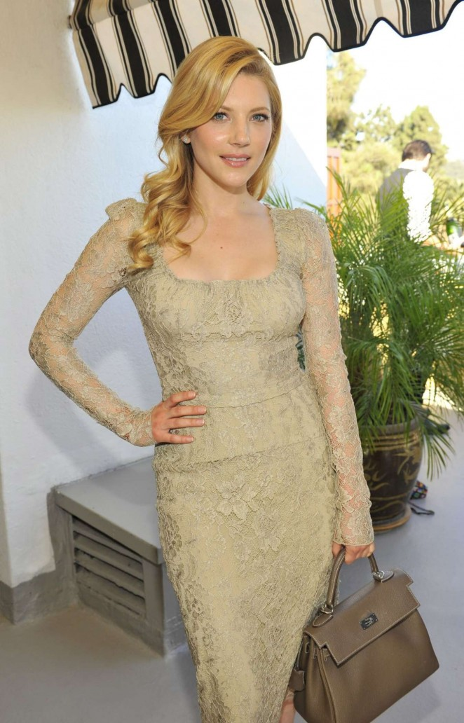 Katheryn Winnick - Vanity Fair And Burberry Celebrate BAFTA Los Angeles and the Britannia Awards at Chateau Marmont in LA