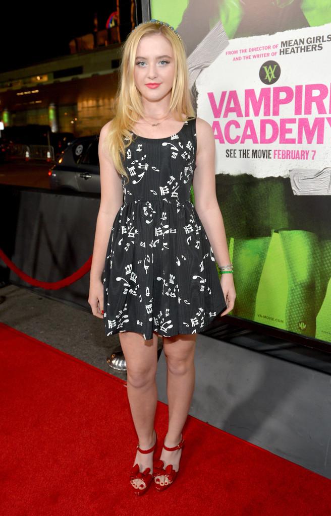 Kathryn Newton: Vampire Academy Premiere -01