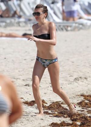 Katie Cassidy - Bikini Candids in Miami -04