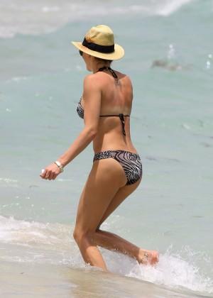 Katie Cassidy Bikini in Miami -04