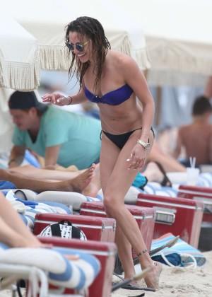 Katie Cassidy bikini photos: 2014 Miami -16