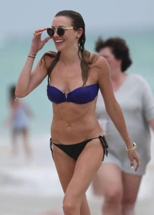 Katie Cassidy bikini photos: 2014 Miami -18