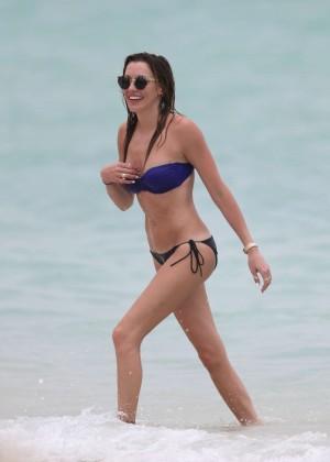 Katie Cassidy bikini photos: 2014 Miami -22