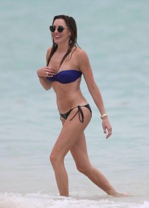 Katie Cassidy bikini photos: 2014 Miami -31