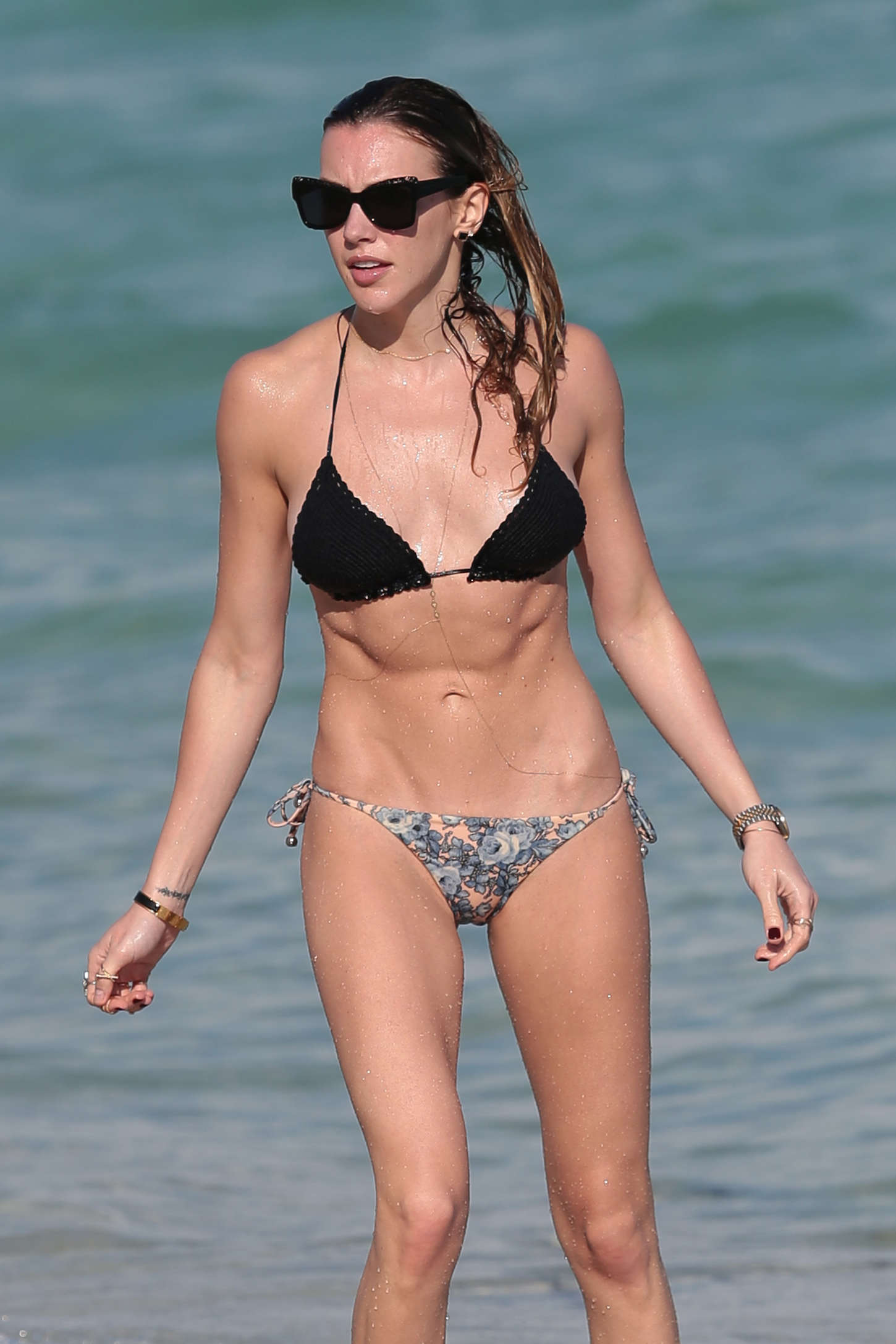 Back to FULL gallery Katie Cassidy in Bikini on the Beach in Miami: gotceleb.com/katie-cassidy-in-bikini-on-the-beach-in-miami-2014-12...