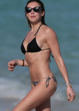 Katie Cassidy in Bikini on Miami Beach
