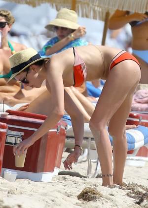 Katie Cassidy in bikini in Miami -16