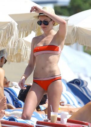 Katie Cassidy in bikini in Miami -31