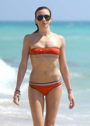 Katie Cassidy in bikini in Miami -33