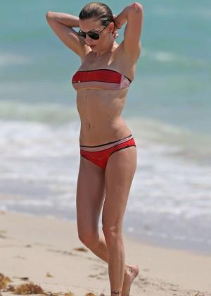Katie Cassidy in bikini in Miami -37