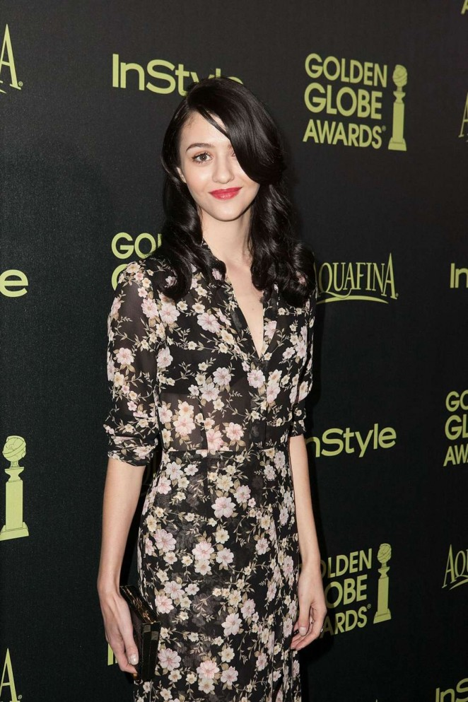 Katie Findlay - HFPA & InStyle Celebrate 2015 Golden Globe Award Season in West Hollywood