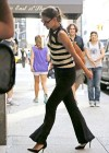 Katie Holmes - arrives in New York City