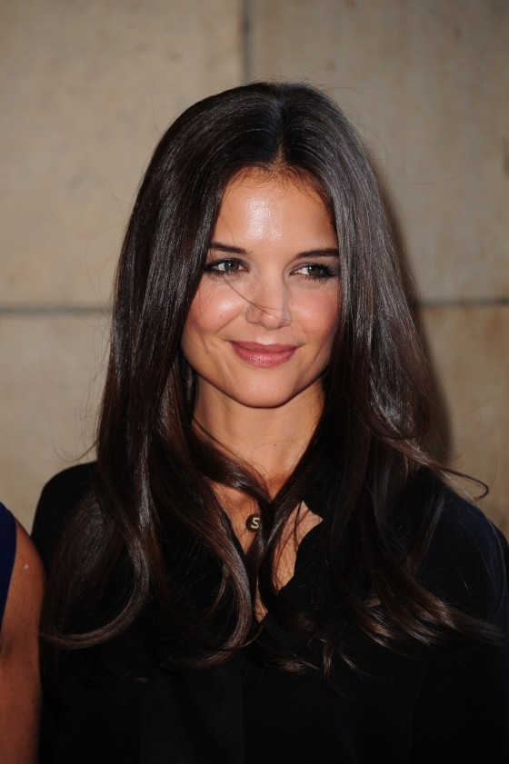Katie Holmes - Paris Fashion Week 2011-04