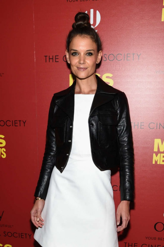 "Katie Holmes at Screening of ""Miss Meadows"" in NYC"