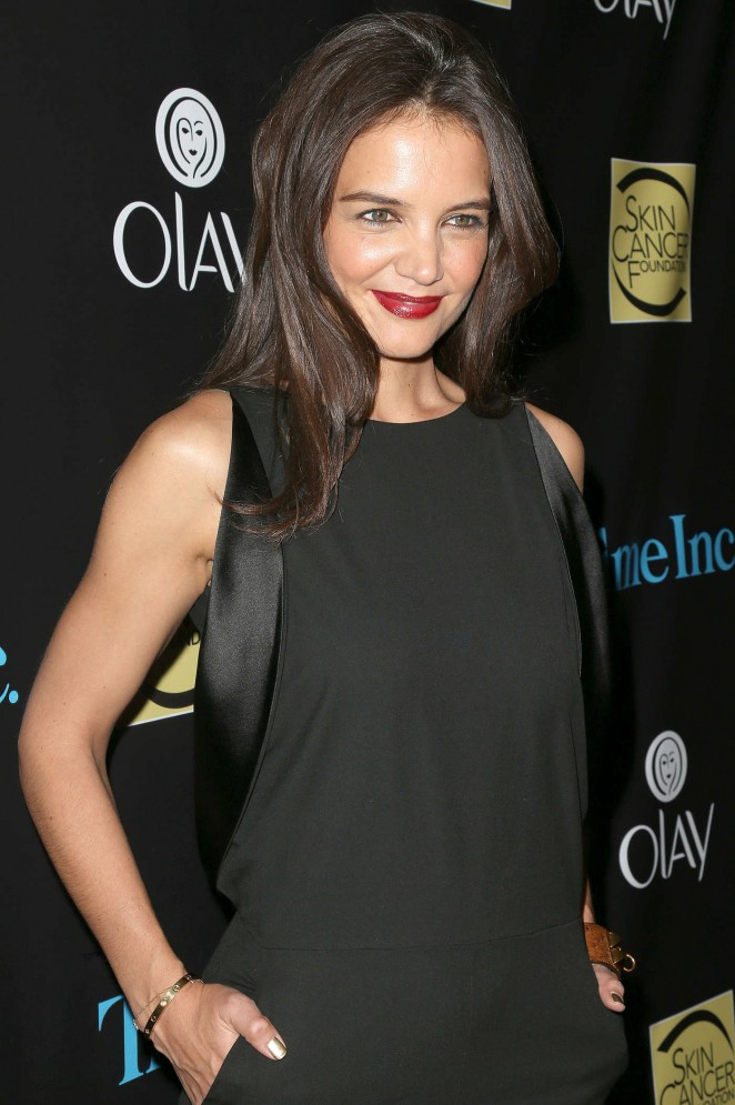 Katie Holmes - Skin Cancer Foundation Gala in New York City