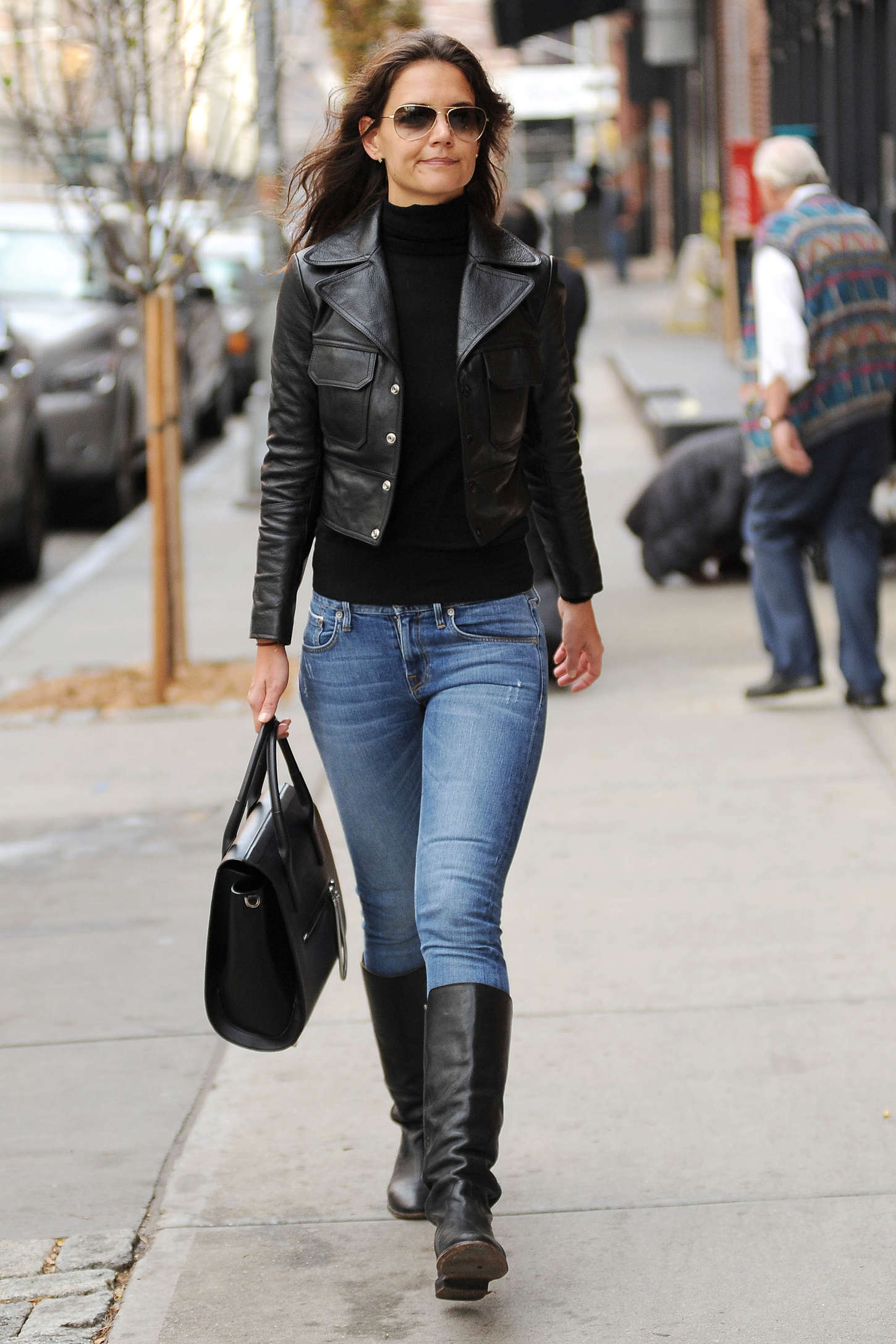 Katie Holmes In Jeans And Boots 22 Gotceleb