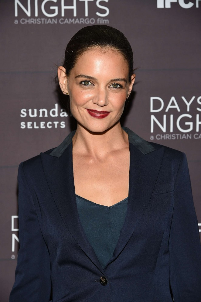 "Katie Holmes - ""Days And Nights"" Premiere in New York City"