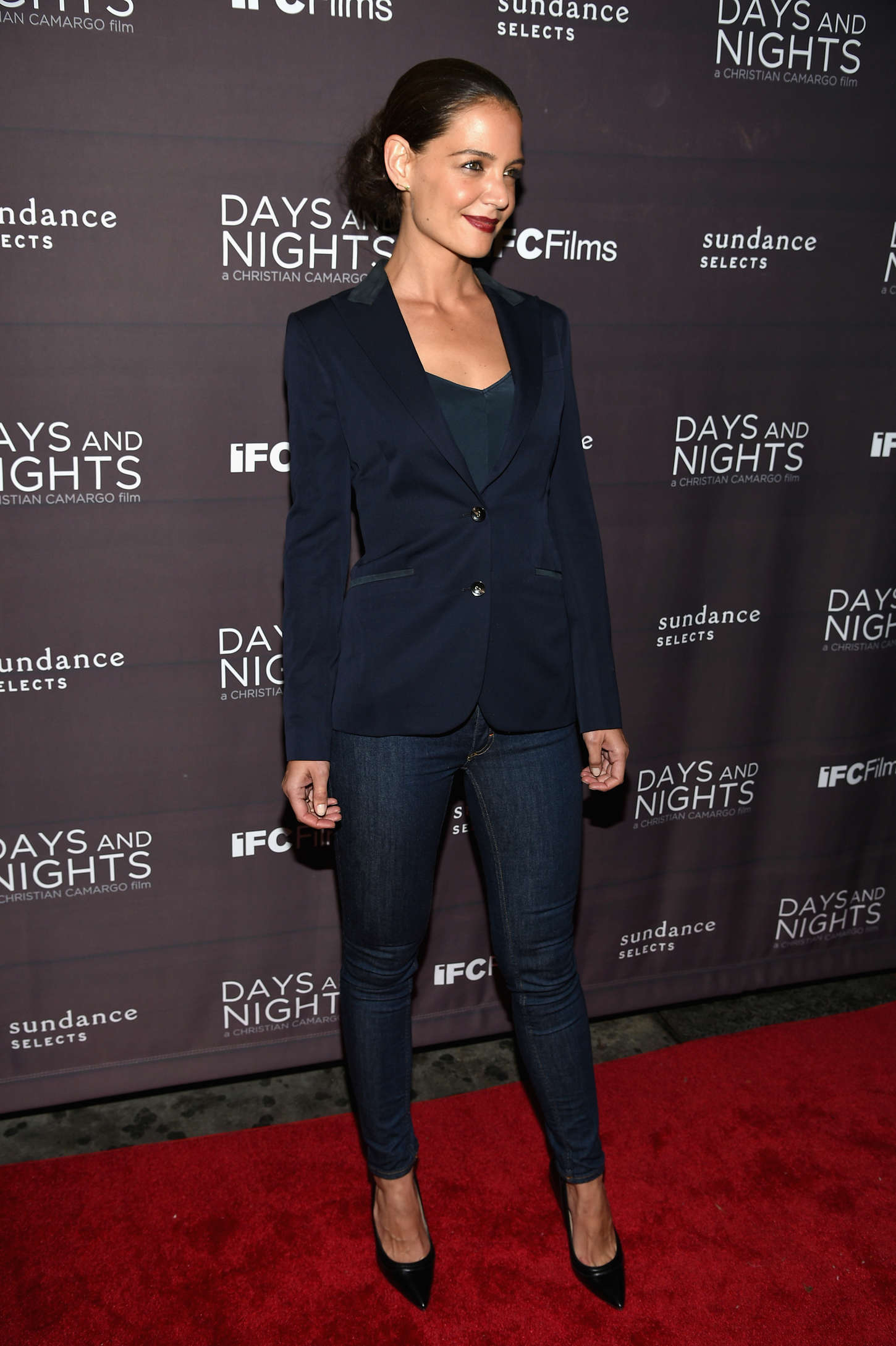 Katie Holmes 2014 : Katie Holmes: Days And Nights NY Premiere -10