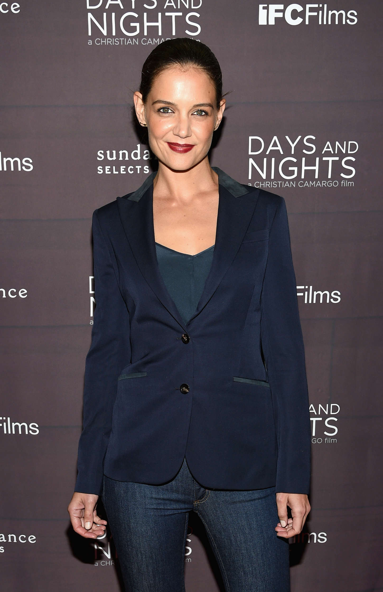 Katie Holmes 2014 : Katie Holmes: Days And Nights NY Premiere -15