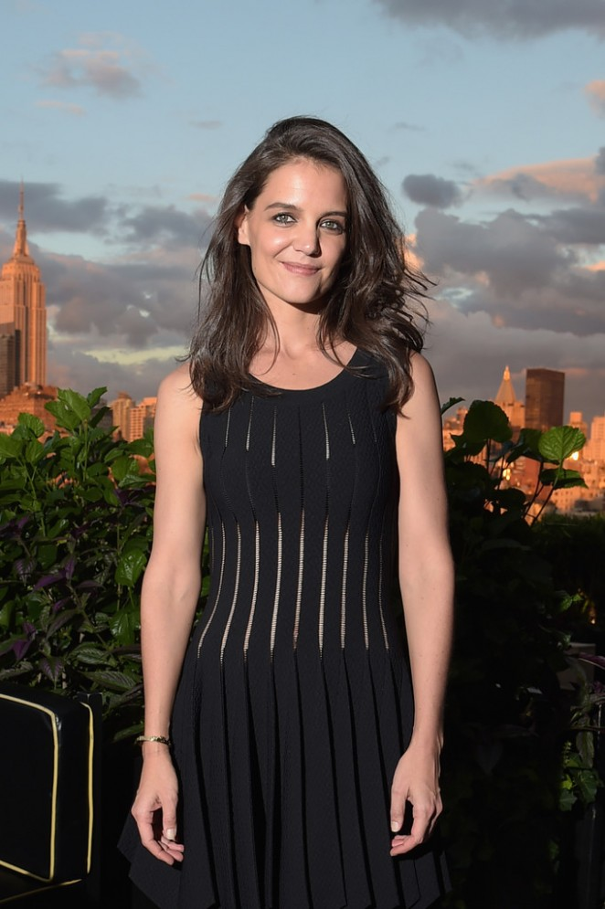 Katie Holmes - Dujour Magazine Fall Cover Launch in NYC