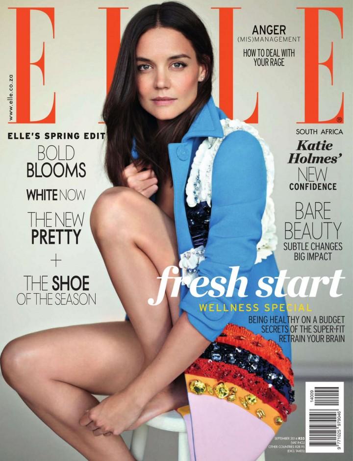 Katie Holmes - Elle South Africa Magazine (September 2014)