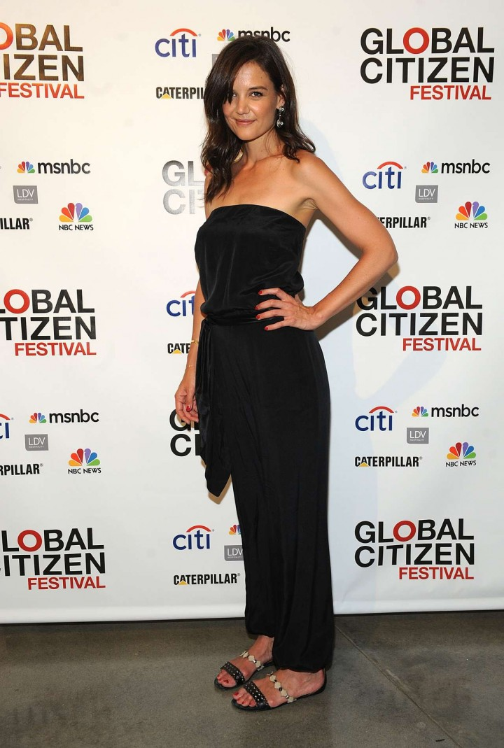 Katie Holmes - Global Citizen Festival Launch Party -01
