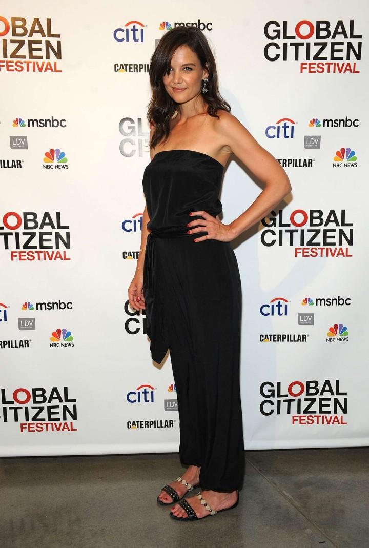 Katie Holmes - Global Citizen Festival Launch Party -01
