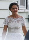 Katie Holmes Photos: in a Wedding Dress filming Miss Meadows -01