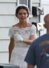 Katie Holmes Photos: in a Wedding Dress filming Miss Meadows -03