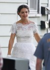 Katie Holmes Photos: in a Wedding Dress filming Miss Meadows -04