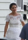 Katie Holmes Photos: in a Wedding Dress filming Miss Meadows -05