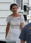 Katie Holmes Photos: in a Wedding Dress filming Miss Meadows -07