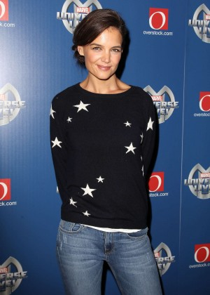 Katie Holmes - Marvel Universe Live! in NYC