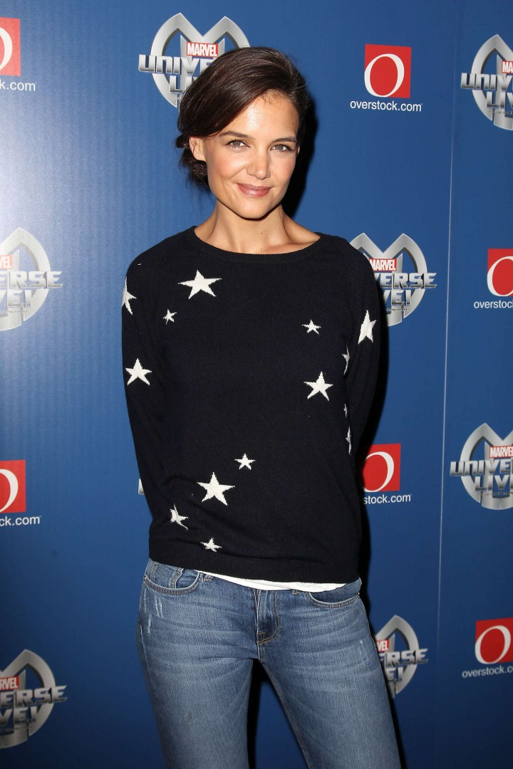 Katie Holmes – Marvel Universe Live in NYC