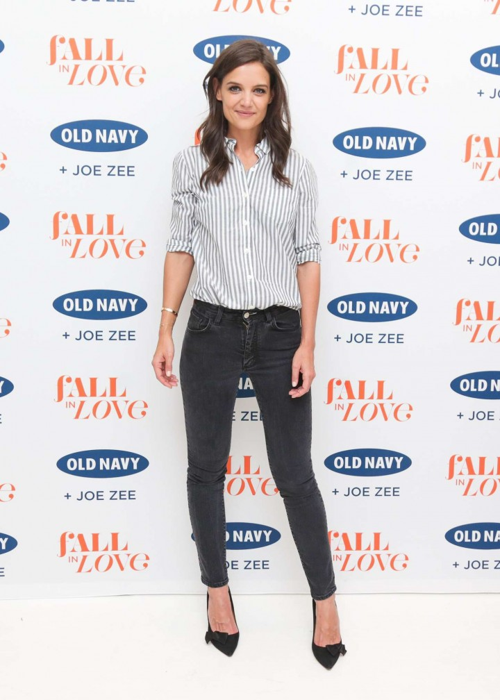 Katie Holmes - Old Navy & Joe Zee Fashion Show in NYC