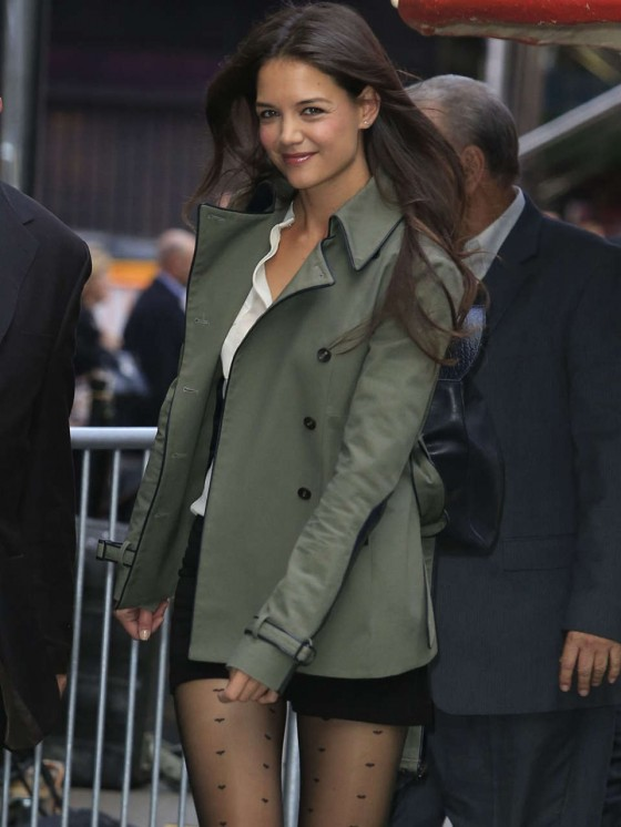 Katie Holmes - On Good Morning America -01