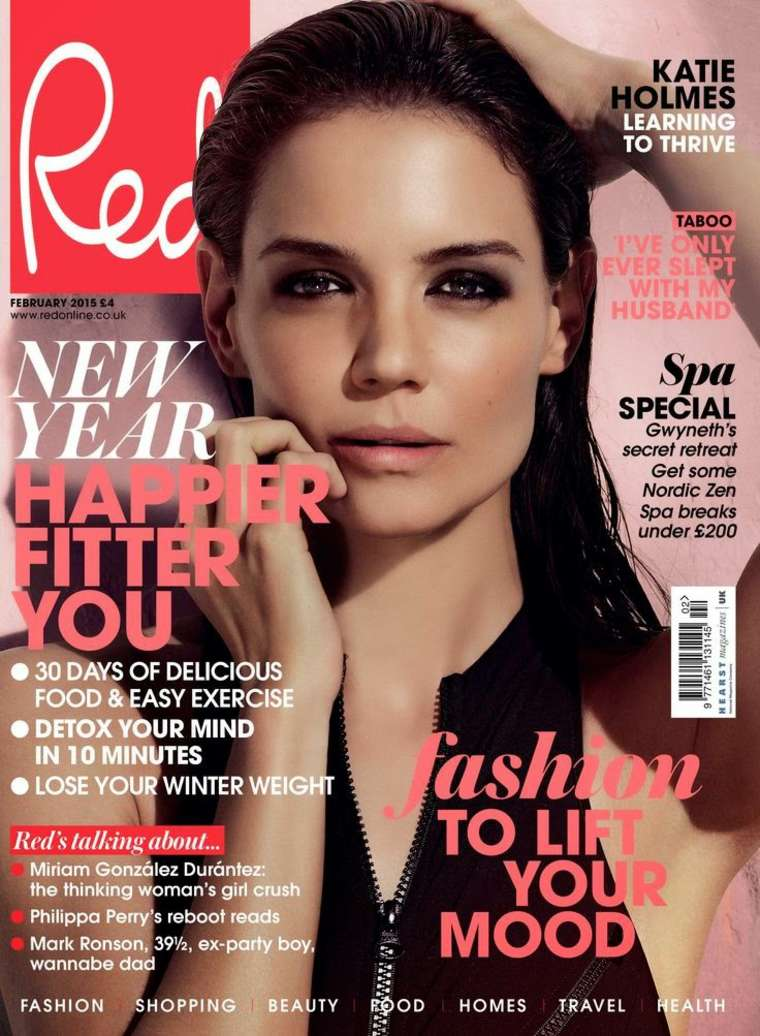 Katie Holmes 2014 : Katie Holmes – Red Cover 2015 -01
