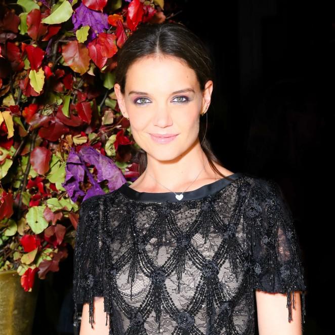 Katie Holmes: St Regis Hotels Hosts a Midnight Supper -01