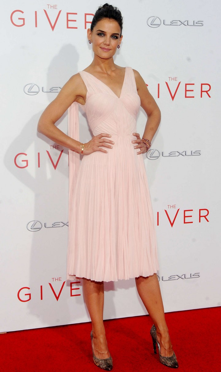 "Katie Holmes - ""The Giver"" Premiere in NYC"