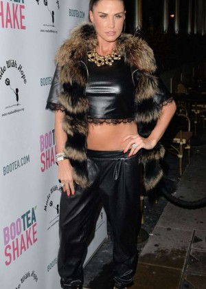 Katie Price - Bootea Shake Drinks Launch at the Sanctum Soho Hotel in London