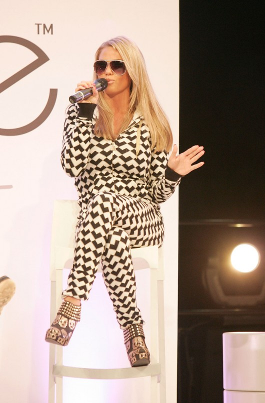 Katie Price launches fashion brand in London