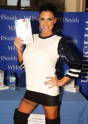 Katie Price - Promoting her book 'Make My Wish Come True' In Kent