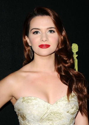 Katie Stevens - HFPA & InStyle Celebrate 2015 Golden Globe Award Season in West Hollywood