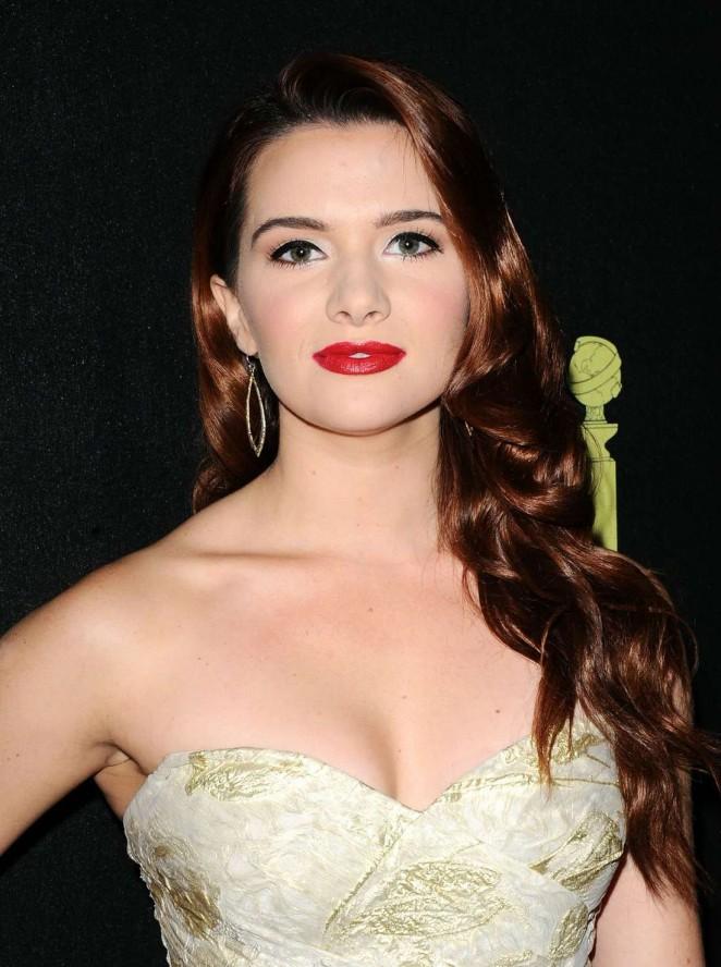 Katie Stevens – HFPA & InStyle Celebrate 2015 Golden Globe Award Season in West Hollywood