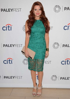 "Katie Stevens - 2014 PaleyFest ""Faking It"" Preview in Beverly Hills"