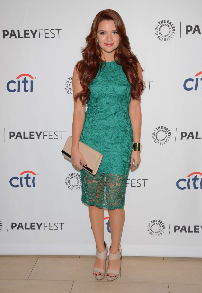 "Katie Stevens – PaleyFest ""Faking It"" Preview in Beverly Hills"