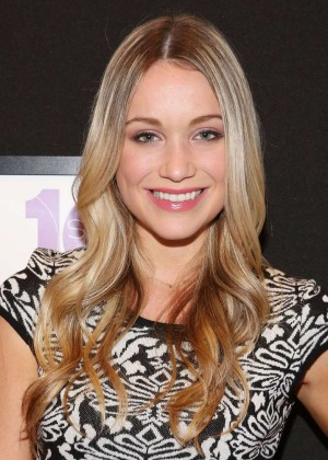Katrina Bowden - Elle Runway Collection By KOHL's in New York City