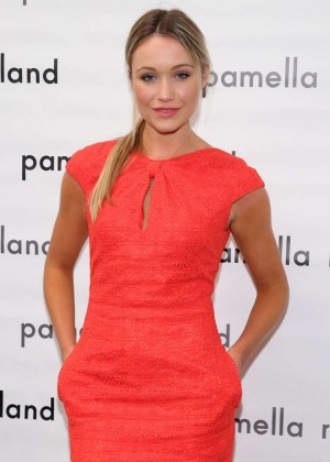 Katrina Bowden  - Pamella Roland Fashion Show in New York City